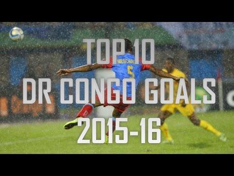 TOP 10 DR CONGO GOALS 2015-2016   HD