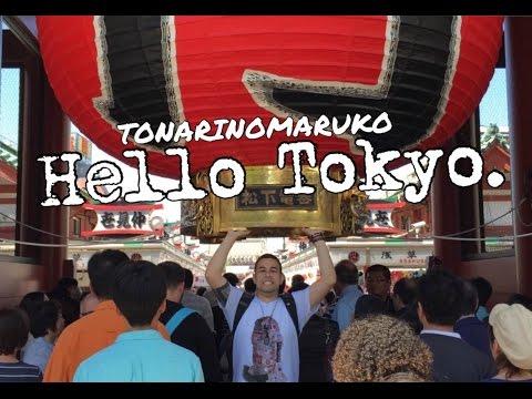 Hello Tokyo ! (Passeio pela cidade de Tokyo, Japão)