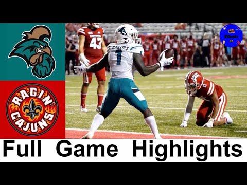 Coastal Carolina vs #21 Louisiana Highlights | College Football Week 7 | 2020 College Football