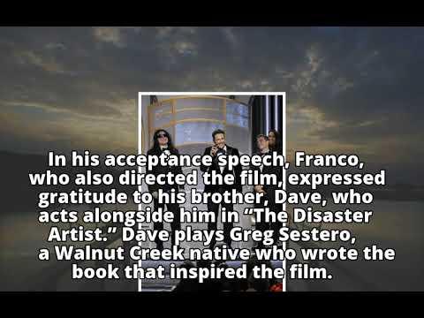 Palo Alto native James Franco wins best actor Golden Globe