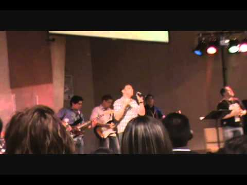 Here I am To Worship (Cover) @ youth Camp 2010 (Ba...