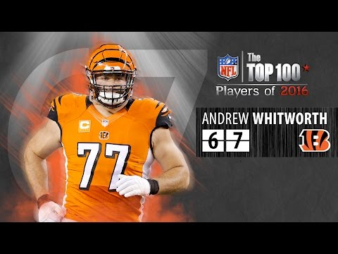 #67: Andrew Whitworth (T, Bengals) | Top 100 NFL Players of 2016