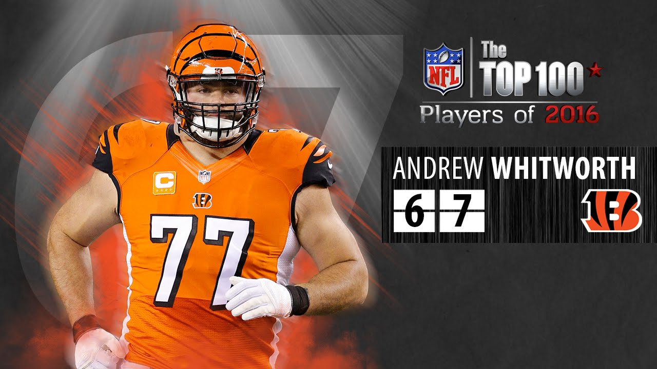 promo code a2f85 bc981 #67: Andrew Whitworth (T, Bengals) | Top 100 NFL Players of 2016