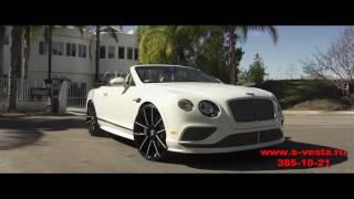 Аренда кабриолета Bentley GT на свадьбу от салона Vesta