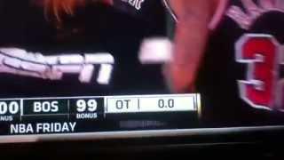 NBA ESPN scoreboard fail