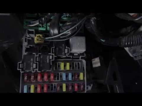 Luces Direccionales y de emergencia  Honda  Parte  1