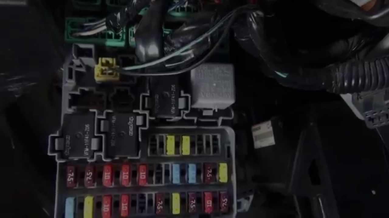 2003 Honda Accord Engine Diagram Fuses Luces Direccionales Y De Emergencia Honda Parte 1