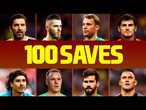 100 Best Goalkeeper Saves Of The Decade • 20102019