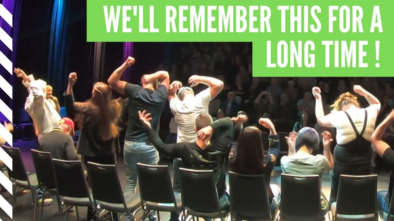 The Best Hypnosis Show Fun Packed Into One Theatre! Comedy ...