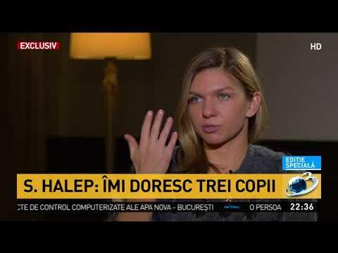 Simona Halep. Nu îmi e teamă de dragoste. Îmi doresc trei copii