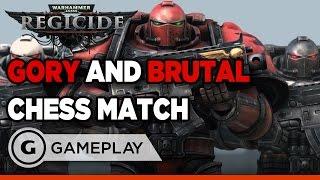 Warhammer 40k: Regicide - Brutal Chess Gameplay
