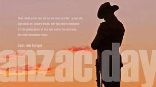 ANZAC DAY - 25th April 2010 - Lest We Forget