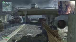 MW3 | 59 Kill in FFA , Only Sniper [1st in Italy]
