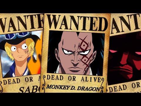 One Piece - Revolutionary Army Bounties
