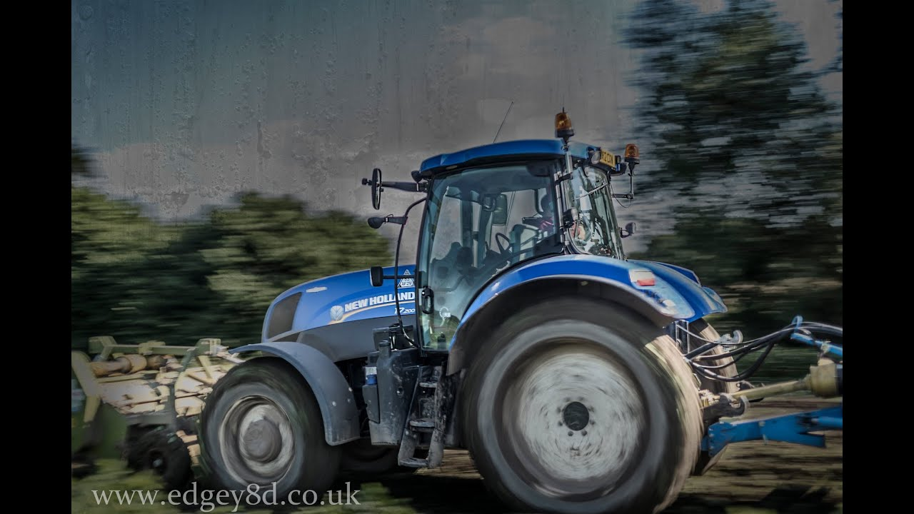 New Holland T Blue Power T And Standen T2