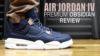 AIR JORDAN 4 PINNACLE PREMIUM OBSIDIAN