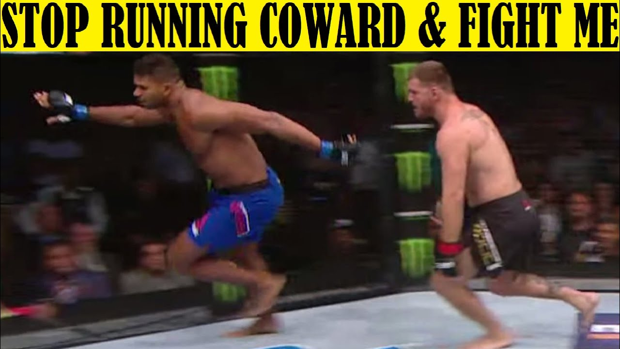 Download Top 10 SCARED Fighters Who Refused to Fight and Just Ran Away