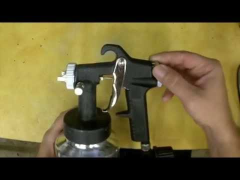 Harbor Freight LVLP Spray Gun Review and Modifications Item 61455