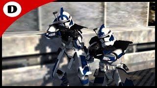 FIVES & ECHO FORTRESS DEFENSE! ~ Men of War: Star Wars Mod