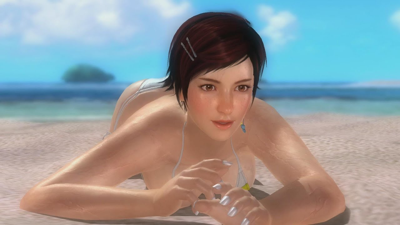 dead or alive 5: last round - mila private paradise aloha costume