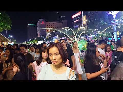 Tết Mậu Tuất 2018 Đường Hoa Nguyễn Huệ