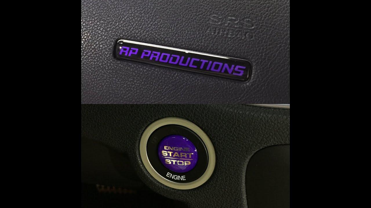 Dodge Charger Custom Interior Badges Rebadge Design