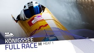 KÖnigssee | BMW IBSF World Cup 2019/2020 - 2-Man Bobsleigh Heat 1 | IBSF Official