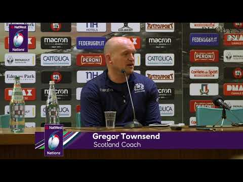 Press Conference: Scotland's Gregor Townsend after Italy victory| NatWest 6 Nations