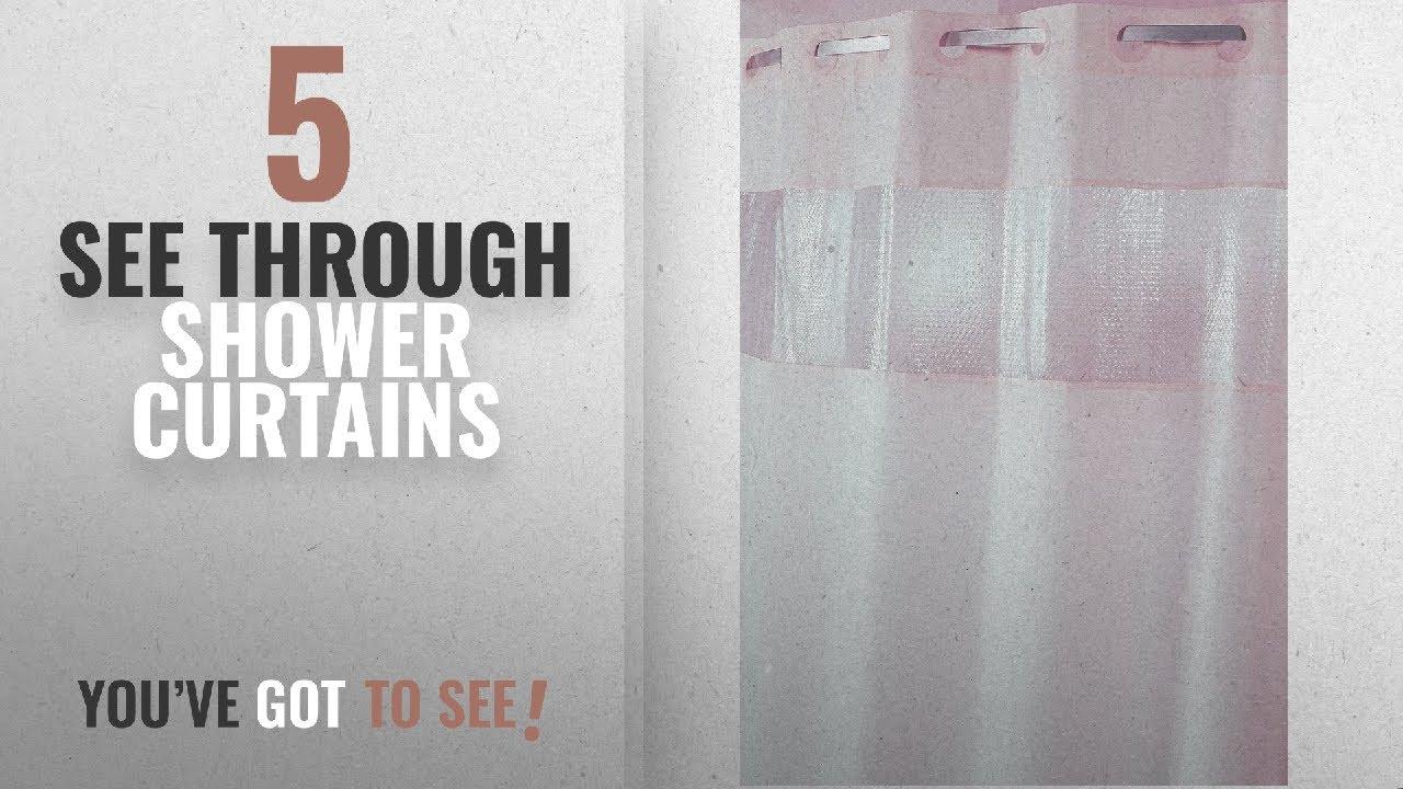 Top 10 See Through Shower Curtains 2018 Hampton Inn Hilton Hotels