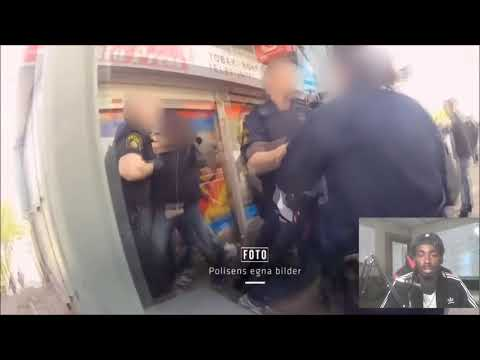 Police Footage From Rinkeby (Sweden Reaction)😱😱😱