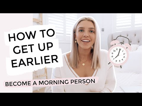 How to be a Morning Person 5 Steps To Getting Out Of Bed Earlier