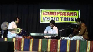 """Sharanam Bhava Karuna Mayi in Hamsavinodhini of """"Narayana Theerthar"""""""