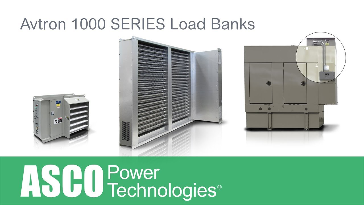 Diy Resistive Load Bank Asco Avtron 1000 Series Load Banks