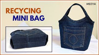 DIY Recycling Jeans Into Mini …