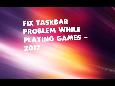 Dota 2 Taskbar Problem | Fix 2017