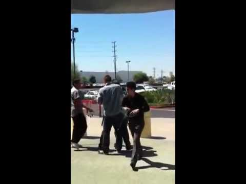 Shoplifter Arrested At Frys Electronics in Burbank I