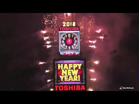New Year's 2018 Ball Drop in Times Square