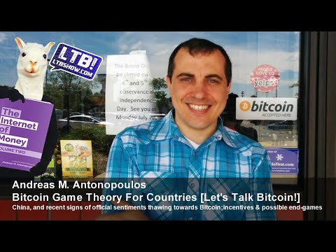 Andreas M. Antonopoulos Bitcoin Game Theory For Countries [Let's Talk Bitcoin!]