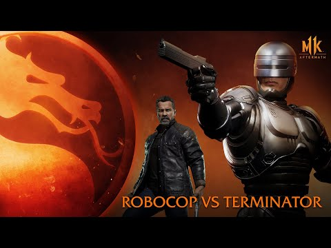 Mortal Kombat 11: Aftermath – RoboCop vs. Terminator (Round 1)