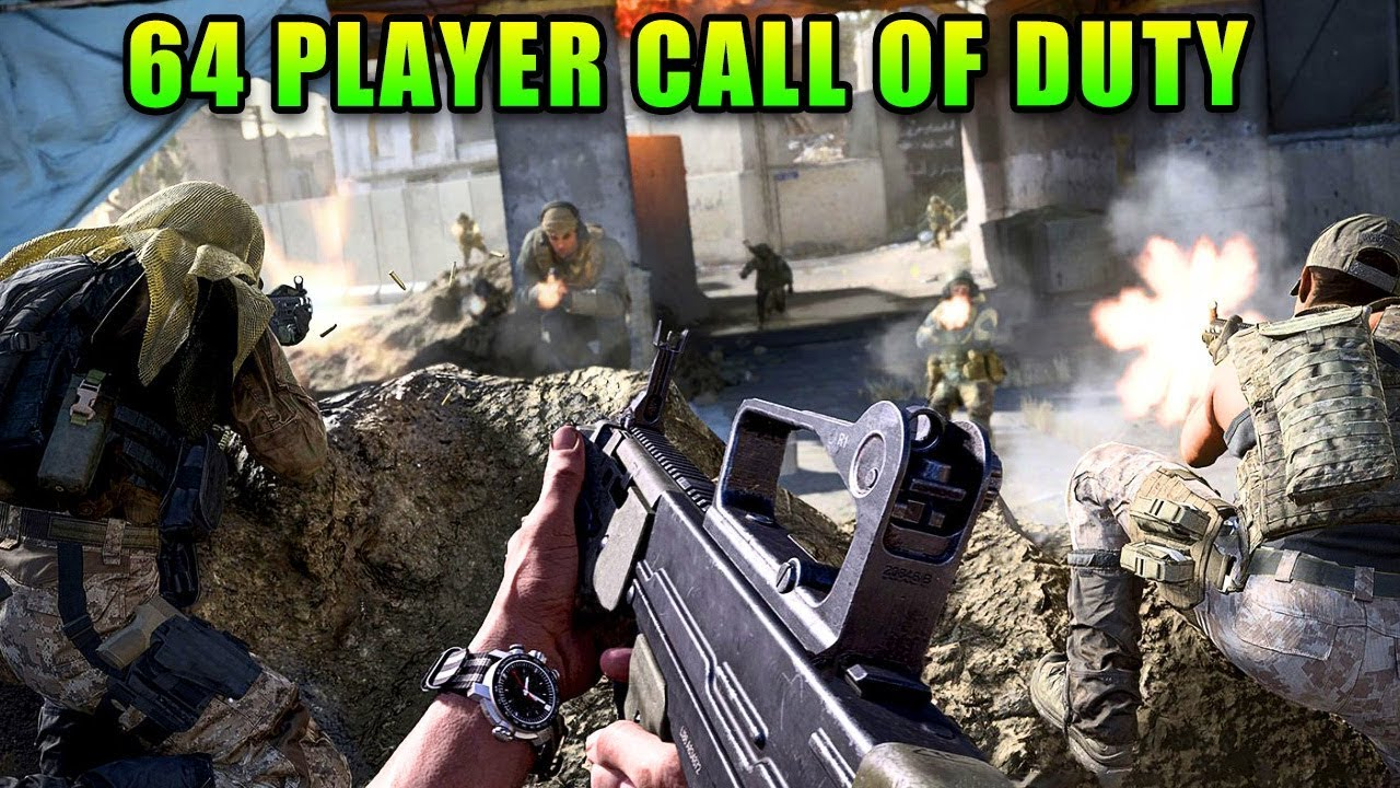 64 Player Call of Duty VS Battlefield | Modern Warfare – GamePlay