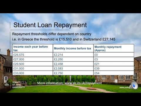 Funding and Tuition Fees for EU students