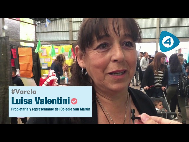 Colegio San Martín de Florencio Varela: autoridades y docentes evalúan la Feria de Ciencias