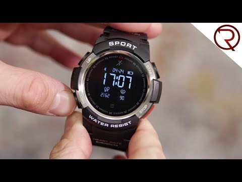 No.1 F6 Waterproof Outdoor Rugged Smartwatch Review - Under $40