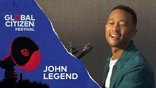 Baixar John Legend Performs All of Me | Global Citizen Festival NYC 2018