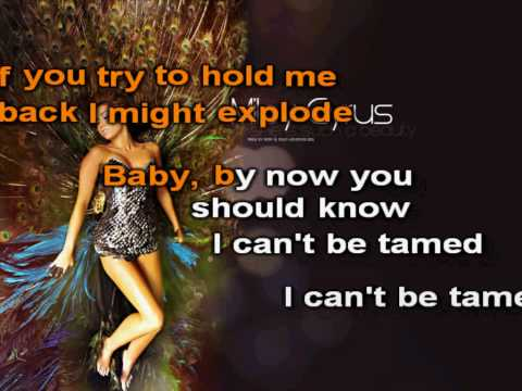 Miley Cyrus Can't Be Tamed Karaoke (HD)