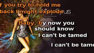 Miley Cyrus Can't Be Tamed Karaoke (HD)