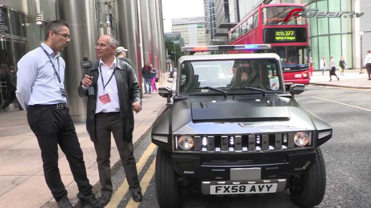 Electric Hummer - YouTube