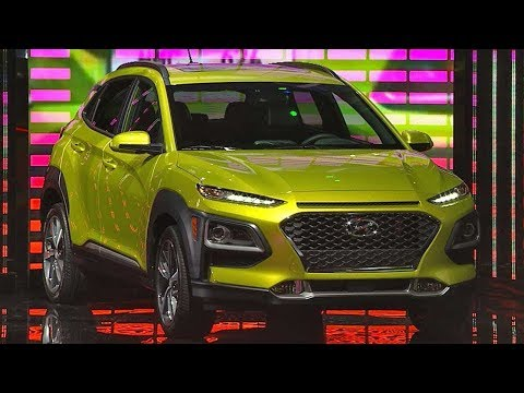 Hyundai Kona Live Reveal