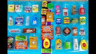 MINI GROCERY COLLECTABLES Vegemite, Tim Tams ,Milo, Nutella ~ COLES LITTLE SHOP!
