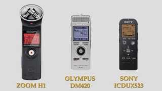 Audio Recorders with Lav Microphone Comparison